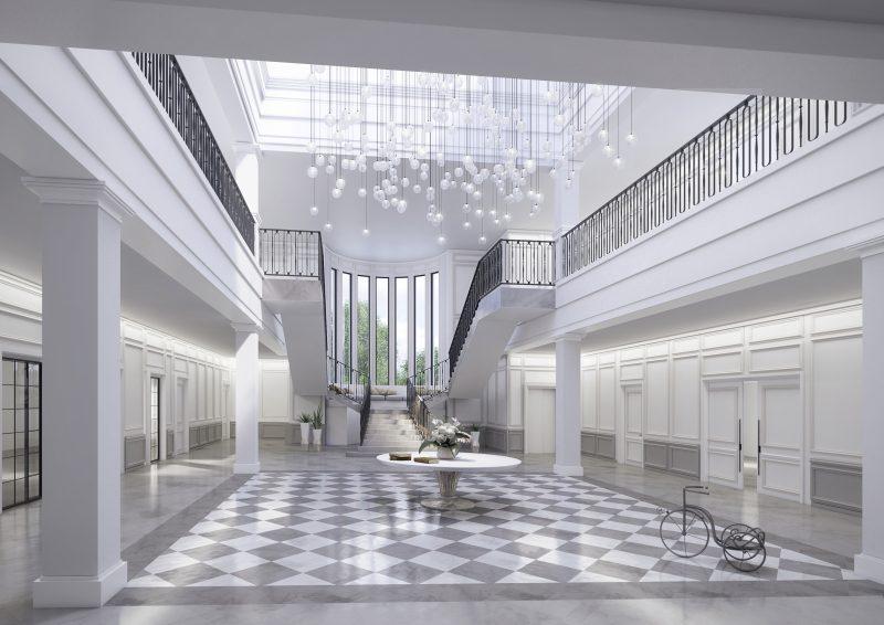 Alrajhi Villa por INTERCON, UAE
