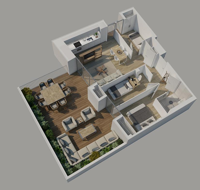 Planos 3d planos venta casas inmobiliaria - Planos de casa en 3d ...