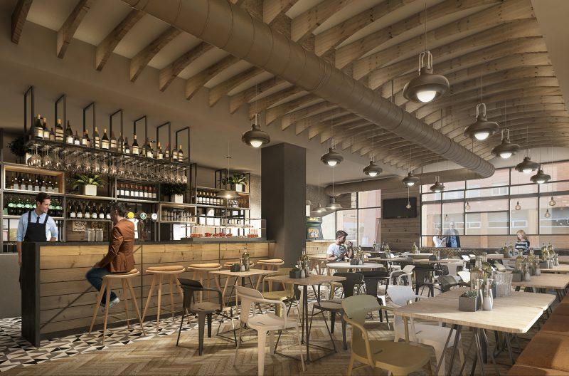 Diseño 3d Bar Punto por INDASTUDIO, Barcelona