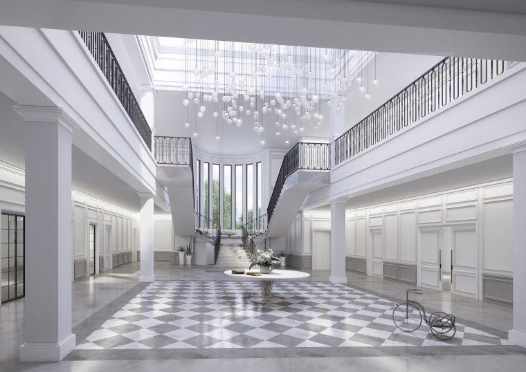 3d Interior Design Alrajhi Villa by INTERCON, UAE