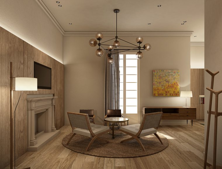 3d Image Meeting Room by INDASTUDIO, Barcelona