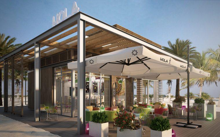 3d Architectural Visualization Bar Dubai